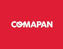Renovación de identidad visual de Comapan