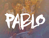 'Pablo' Brush Typeface
