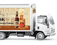Bosteels Brewery // Fleet Graphics