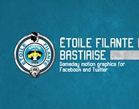 Étoile Filante Bastiaise - Motion Graphics