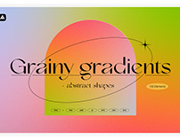 Grainy Gradients - Backgrounds, Abstract Shapes