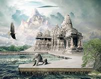 Zen Paradise - Manipulação de Imagem
