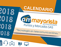 Calendario corporativo 2018 - PyM Mayorista