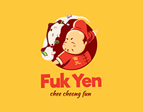 Fuk Yen - Chee Cheong Fun Branding