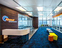 Interior Photography - Akamai office by Space Matrix