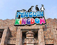 Penguin Kingdom Signage
