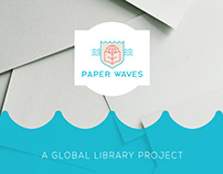 Paper Waves / Logo Design & Branding