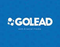 Logo e SM GoLead