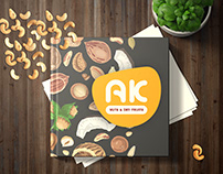 AK Cashews Booklet by fresh mind ideas