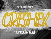 Creshex Dry Brush | Free Font