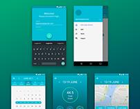 Timcard app