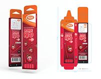 Atlas® Berry Red Pencil Packaging