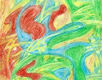 Rysunek, malarstwo - Abstrakcje