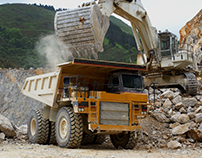 Mining machines / Website