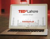 TEDxLahore Website