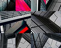 Architectural op-art