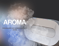 Aroma | Personalized SPA shower mixer with aroma