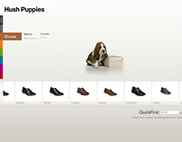 Hush Puppies Website