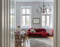 Interior Photography- Apartment RED, Vienna