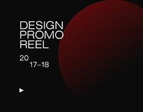 Design Promo Videos 2017-18 Compilation