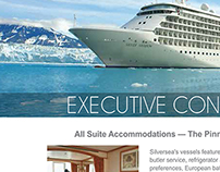 Promotional Flyer - Silversea Cruises