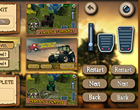 Farm Simulation Game UI Design