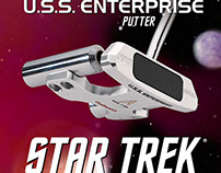 U.S.S. Enterprise Putter and Limited Edition Packaging