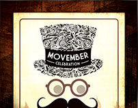 Movember Celebration Flyer