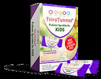 Flora Tummys Probiotic springkler for Kids