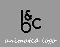 Animated LOGO 'b&c'