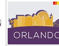 Orlando Stamp design