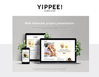 YIPPEE Jewelry Project | Website Design