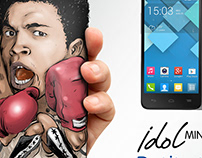 Alcatel prints - Idol Mini 2013