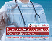 Brochure & Website for digital services for doctors