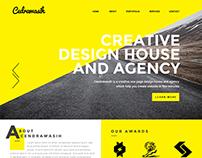 Cendrawasih - Creative One Page PSD Template