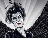 Shachath, Angel of Death | American Horror Story Prints
