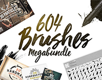 604 Brushes Megabundle