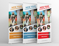 Fashion Show Roll-up Banner Design