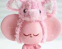 Pink elephant starfy