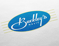 Buckley's Music – Identity Design