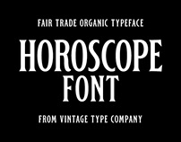 Horoscope Display Font 2019