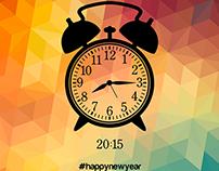 Happy New Year Illustration | 2015