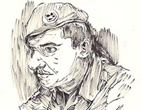 Drawing in the army