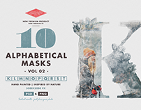 10 Alphabetical Masks Vol 02