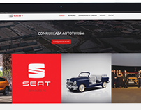SEAT - Portfolio WEB Design