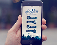 Ramadan Kareem design App Screen