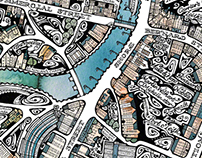 Leith foody map
