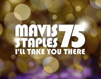 Motion Graphics for Mavis Staples 75 Concert Film
