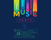 Summer Music Party | Free Download Design Templates