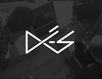 DÉS Studio - Criação de Marca e Identidade Visual